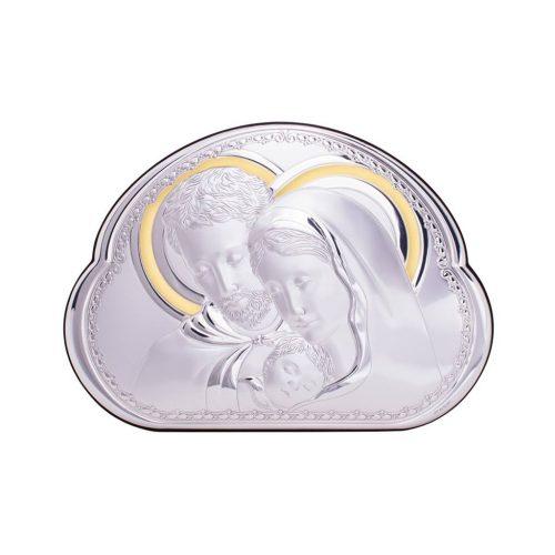 Icoana argintata cu Sfanta Familie