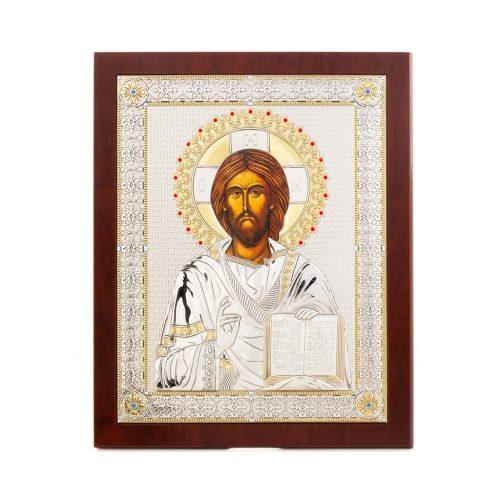 Icoana-argintata-cu-Iisus-Hristos-IA15