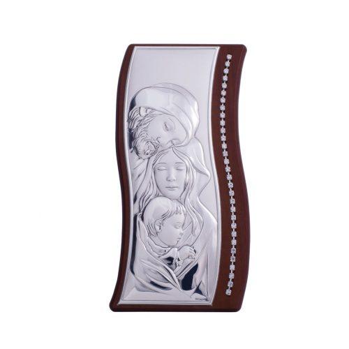 Icoana de argint-Sfanta Familie