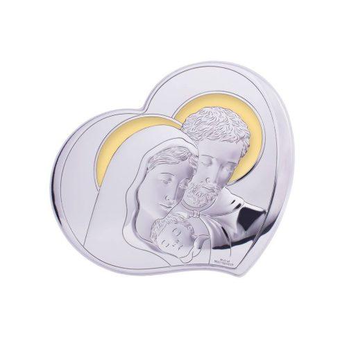Sfanta Familie-Icoana argint