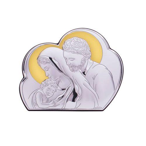 Sfanta Familie-icoana de argint