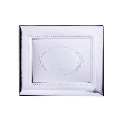 Rama foto argintata 3 in 1 cadou pentru nunta